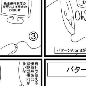 【報告】株のあるある4コマ漫画(第48弾)