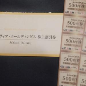 【ヴィアHDから割引券5,000円分到着(2020/08)】商品交換はできないし、有効期限は半年だし
