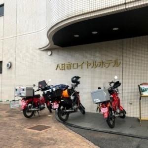 くまモンカブ里帰り九州ツーリング 【大阪~東近江編】