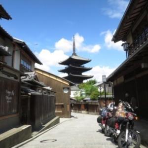 くまモンカブで京都ツーリング ⑤ 【近江八幡に寄り道、そして…】