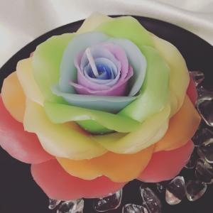 虹色キャンドルの誕生