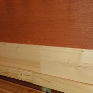 お店(カラオケライブbar古都)に棚を作りました