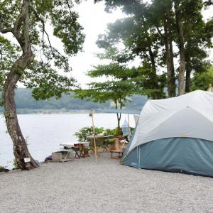 SUPでグルキャンする日が来るなんて…!〜青木荘キャンプ場〜①