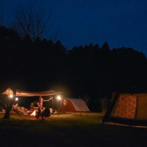 婦人部見習いキャンプ ②コットンテント土砂降り再び 〜協同村ひだまりファーム〜