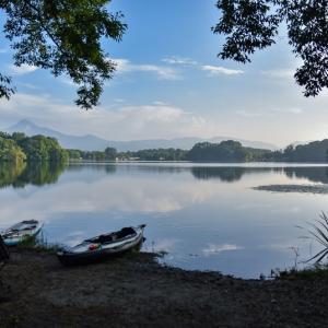 夏休みカヤック&SUPキャンプ④2つ目の湖〜ほとりのあそび場キャンプ場〜