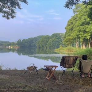 夏休みカヤック&SUPキャンプ⑤移住したくなる景色〜ほとりのあそびばキャンプ場〜