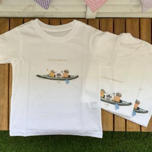 マイカヤックのオリジナルTシャツを作ったよ♡