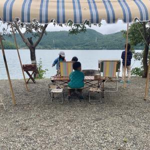 今年の漕艇課キャンプは出会いがたくさん!①〜青木荘キャンプ場〜