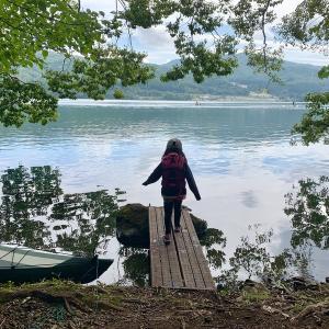 今年の漕艇課キャンプは出会いがたくさん!③〜青木荘キャンプ場〜