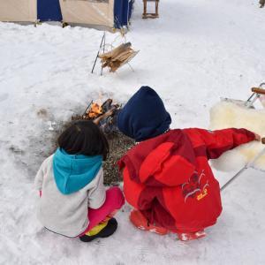雪中キャンプは高規格キャンプ場で♩②〜エンゼルフォレスト那須白河〜