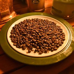 コーヒー豆の焙煎が楽しい
