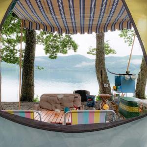 憧れの湖畔キャンプ ②ALPS BOOK CAMPに日帰り初参戦