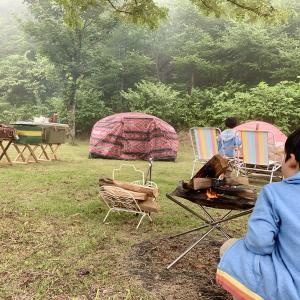 展望台のある山の上無料キャンプ場☆はしごキャンプ東北編2泊目〜折爪岳オートキャンプ場〜