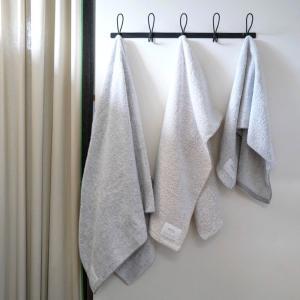 【daily】吸水性抜群のタオルに嬉しいサイズ違いが登場。