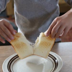 友達に心底驚かれたわが家の食パンの食べ方。