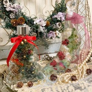 クリスマスツリーハーバリウム