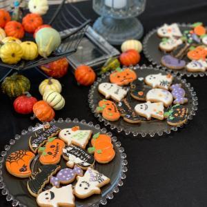 Halloweenアイシングクッキーレッスン