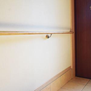 玄関に手すりを付けたら機能的で使いやすくなったよ!