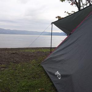屈斜路湖キャンプ