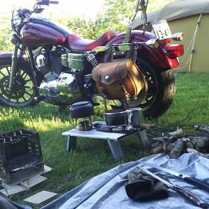 北海道 バイク ソロキャンプ