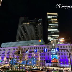 御堂筋イルミネーション2019と、北欧のカジュアルクリスマスディナー @大阪