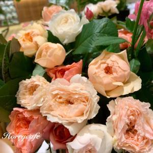 楽しい! わばらの装花体験 @Café&Meal MUJI近鉄あべのハルカス