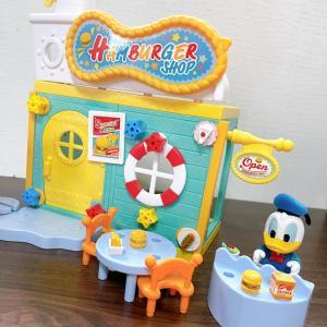 ディズニーキャラクター DIYTOWNシリーズ ドナルドのハンバーガーショップ