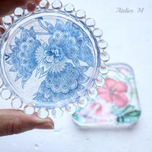 夏らしいガラス作品