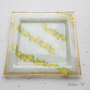 ガラスプレートとフォトフレーム