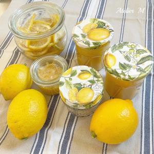 空き瓶とレモンカード