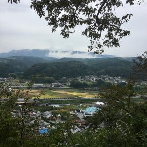 鶴ヶ城(美濃国)〜東出丸跡からの景色〜