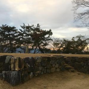 松坂城 〜敵見櫓跡〜