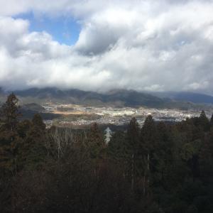 松尾山城(小早川秀秋陣跡)〜主郭からの景色〜