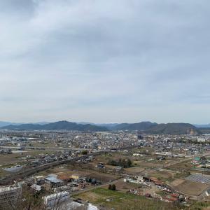 三井城(三井山城)〜本丸跡から望む〜