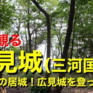 [YouTube]【城を観る】《広見城(三河国)》2020 〜中条氏の居城!広見城を登ってみた〜