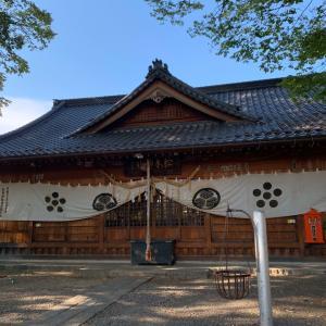 松本城(深志城)〜松本神社 拝殿〜