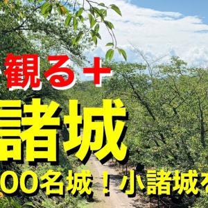 【城を観る+】《小諸城》2019 〜日本100名城!小諸城を観る〜