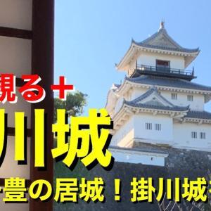 【城を観る+】《掛川城》2019 〜山内一豊の居城!掛川城を観る〜