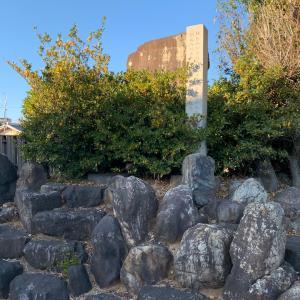 上条城(尾張国) 〜林家屋敷跡の石碑〜