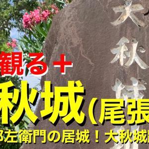 【城を観る+】《大秋城(尾張国)》2020 〜大秋十郎左衛門の居城!大秋城跡を観る〜