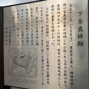 下奈良城(尾張国)〜解説板 下奈良城跡〜