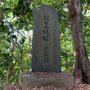 羽黒城(尾張国)〜石碑 羽黒城址〜