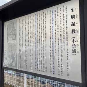 城を観る《小折城(生駒屋敷)》