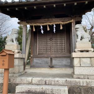 星崎城 〜秋葉社 拝殿〜