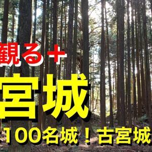 【城を観る+】《古宮城》2021 〜続日本100名城!古宮城を観る〜
