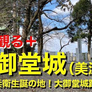 【城を観る+】《大御堂城(美濃国)】2021 〜竹中半兵衛生誕の地!大御堂城跡を観る〜