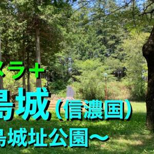 【城カメラ+】《殿島城(信濃国)》2021 〜殿島城址公園〜