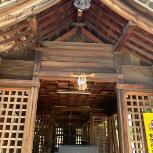 荒子城(尾張国)〜神明社 拝殿〜