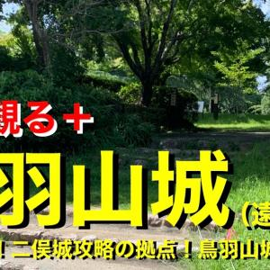 【城を観る+】《鳥羽山城(遠江国)》2021 〜徳川家康!二俣城攻略の拠点!鳥羽山城跡を観る〜