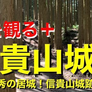 【城を観る+】《信貴山城》2021 〜松永久秀の居城!信貴山城跡を観る〜